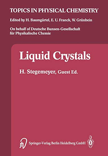 9783662083956: Liquid Crystals (Topics in Physical Chemistry)