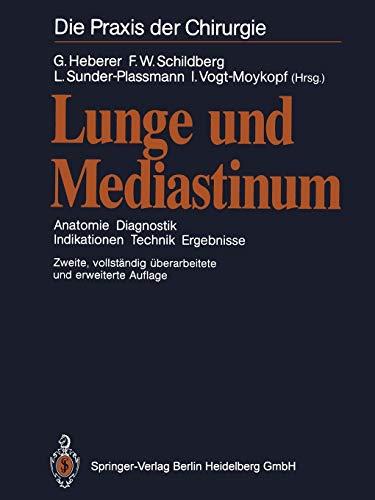 9783662084342: Lunge und Mediastinum: Anatomie Diagnostik ...