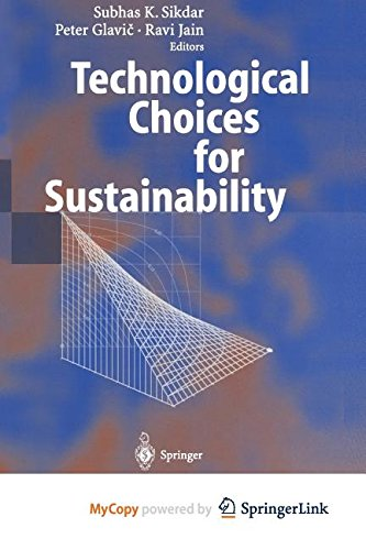 9783662102718: Technological Choices for Sustainability