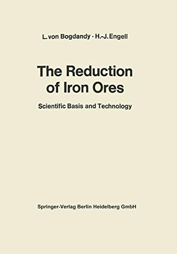 9783662104026: The Reduction of Iron Ores: Scientific Basis and Technology