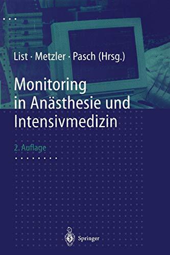 9783662125427: Monitoring in Anästhesie und Intensivmedizin