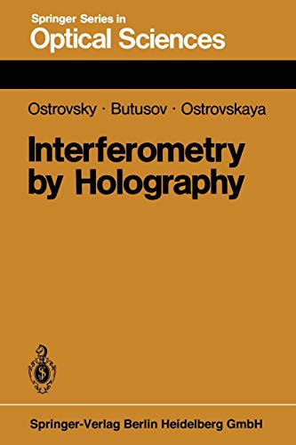 9783662134894: Interferometry by Holography (Springer Series in Optical Sciences) (Volume 20)