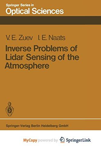 9783662135389: Inverse Problems of Lidar Sensing of the Atmosphere