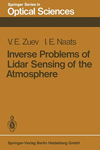 9783662135396: Inverse Problems of Lidar Sensing of the Atmosphere (Springer Series in Optical Sciences) (Volume 29)