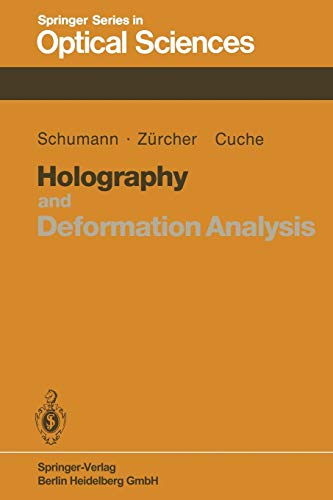9783662135594: Holography and Deformation Analysis: 46 (Springer Series in Optical Sciences)