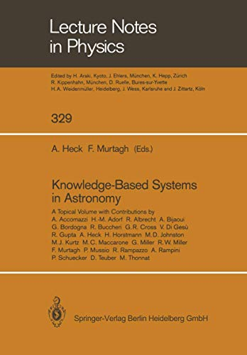 Knowledge-Based Systems in Astronomy: ANDRE HECK