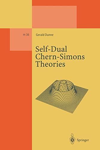 Self-Dual Chern-Simons Theories: Gerald Dunne