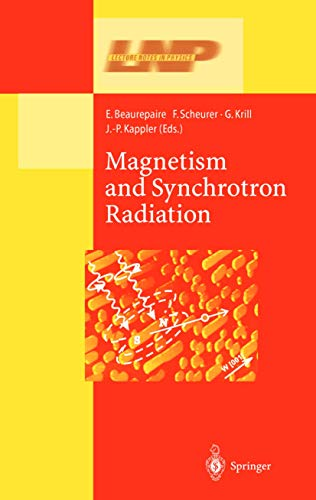 Magnetism and Synchrotron Radiation (Lecture Notes in Physics): Springer