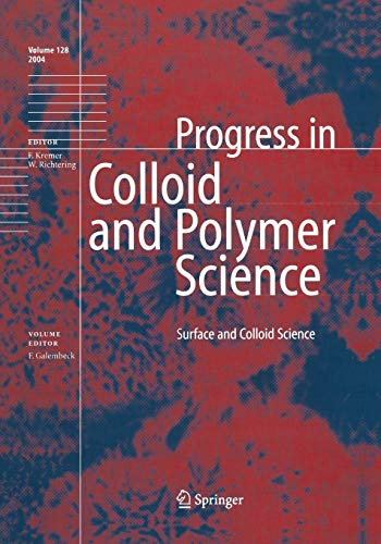 9783662145319: Surface and Colloid Science (Progress in Colloid and Polymer Science) (Volume 128)