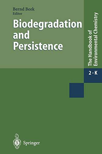9783662146903: Biodegradation and Persistence (The Handbook of Environmental Chemistry) (Volume 2)