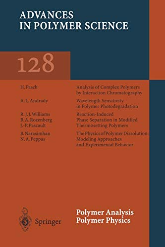 9783662147979: Polymer Analysis Polymer Physics (Advances in Polymer Science) (Volume 128)