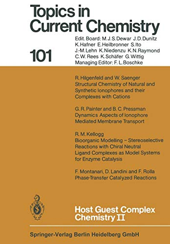 9783662153307: Host Guest Complex Chemistry II (Topics in Current Chemistry) (Volume 101)