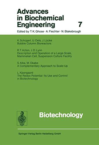 9783662154908: Biotechnology (Advances in Biochemical Engineering/Biotechnology)