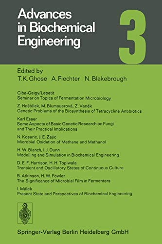 9783662155561: Advances in Biochemical Engineering (Advances in Biochemical Engineering/Biotechnology) (Volume 3)
