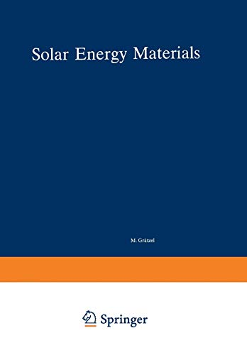 9783662157626: Solar Energy Materials (Structure and Bonding)