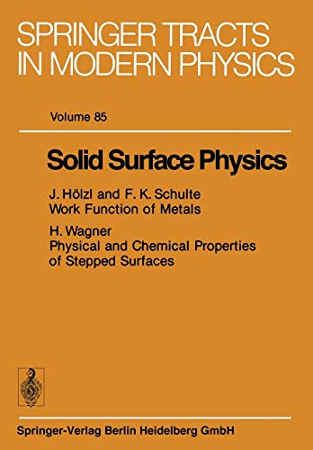 9783662158098: Solid Surface Physics (Springer Tracts in Modern Physics)