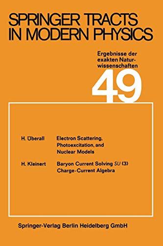 9783662158852: Springer Tracts in Modern Physics: Ergebnisse der exakten Naturwissenschaften