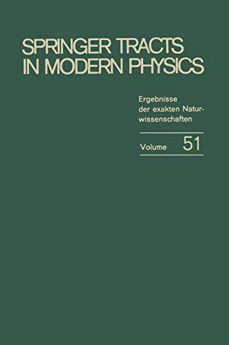 9783662158890: Springer Tracts in Modern Physics: Ergebnisse der exakten Naturwissenschaften