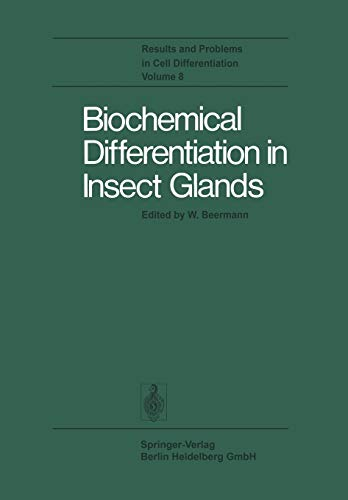 9783662216705: Biochemical Differentiation in Insect Glands (Results and Problems in Cell Differentiation)