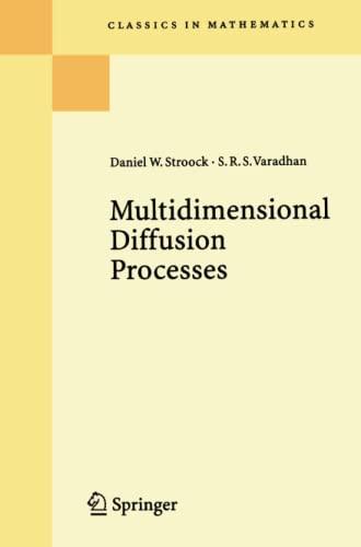 9783662222010: Multidimensional Diffusion Processes (Classics in Mathematics)