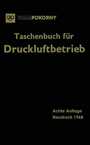 9783662281949: Taschenbuch Fur Druckluftbetrieb