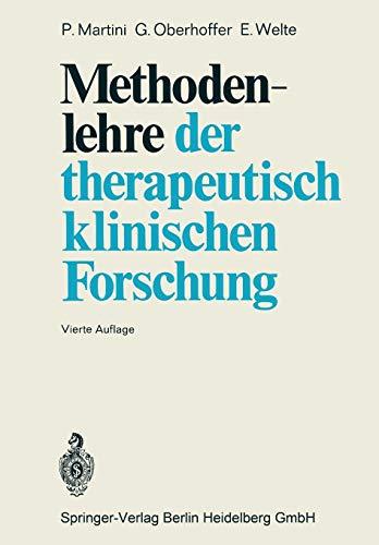 Methodenlehre der therapeutisch-klinischen Forschung: P. MARTINI