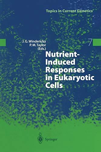 9783662308226: Nutrient-Induced Responses in Eukaryotic Cells (Topics in Current Genetics)