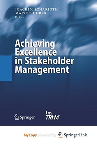 9783662311790: Achieving Excellence in Stakeholder Management