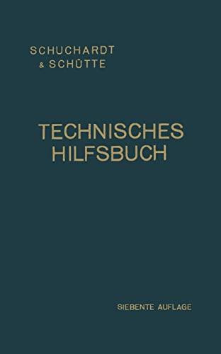 9783662354186: Technisches Hilfsbuch (German Edition)