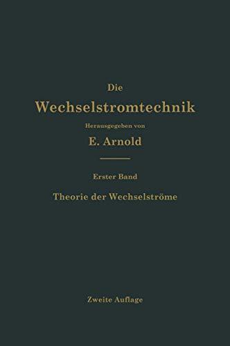 9783662393130: Theorie der Wechselströme (Die Wechselstromtechnik)