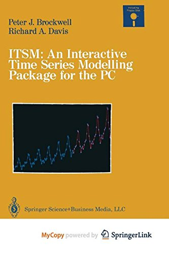 9783662398753: ITSM: An Interactive Time Series Modelling Package for the PC