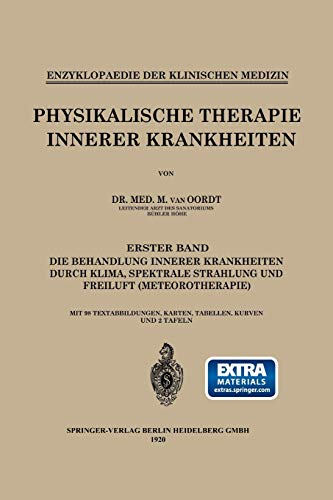 9783662421109: Physikalische Therapie Innerer Krankheiten (Enzyklopaedie der Klinischen Medizin) (German Edition)