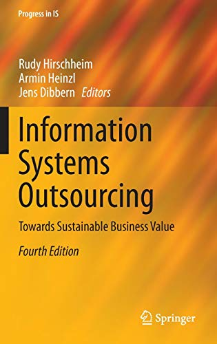 9783662438190: Information Systems Outsourcing: Towards Sustainable Business Value (Progress in IS)