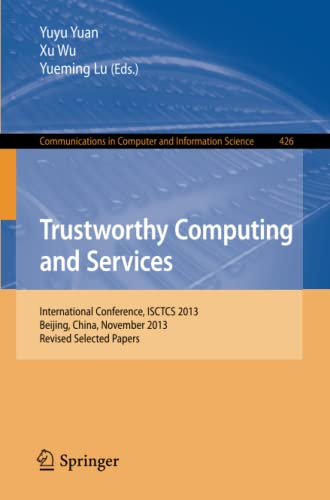 Trustworthy Computing and Services: Yuyu Yuan