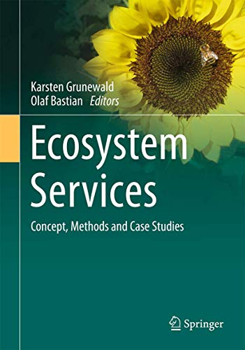 9783662441428: Ecosystem Services - Concept, Methods and Case Studies