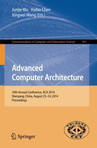 Advanced Computer Architecture: Junjie Wu