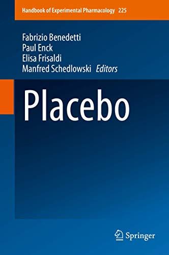 Placebo (Handbook of Experimental Pharmacology): Benedetti, Fabrizio [Editor];