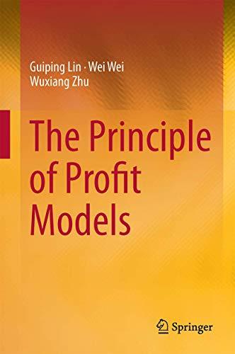 9783662447130: The Principle of Profit Models