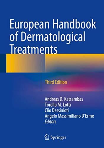 European Handbook of Dermatological Treatments (Hardcover): Katsambas