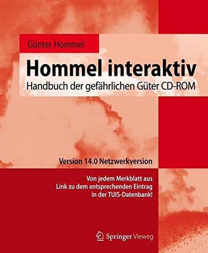 9783662452523: Hommel interaktiv: Handbuch der gefährlichen Güter CD-ROM. Version 14.0 Netzwerkversion (German Edition)