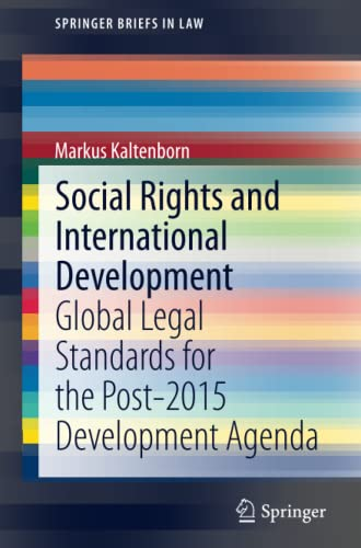 Social Rights and International Development: Markus Kaltenborn