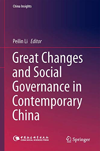 9783662457337: Great Changes and Social Governance in Contemporary China (China Insights)