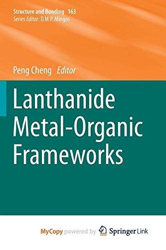 9783662457740: Lanthanide Metal-Organic Frameworks