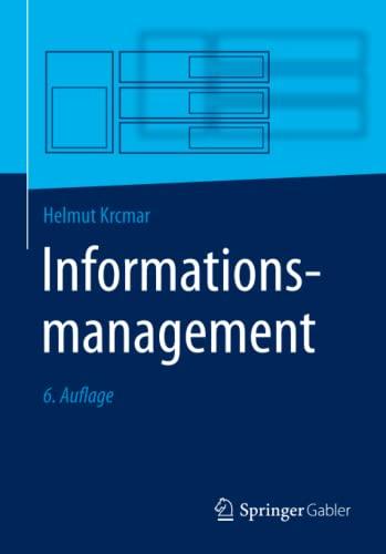 Informationsmanagement: Krcmar, Helmut