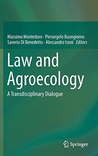 9783662466162: Law and Agroecology: A Transdisciplinary Dialogue