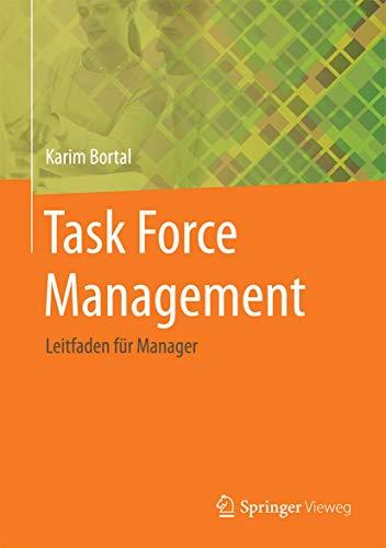 9783662467275: Task Force Management: Leitfaden für Manager (German Edition)