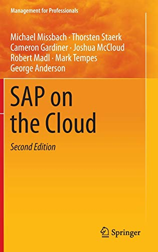 9783662474174: SAP on the Cloud (Management for Professionals)