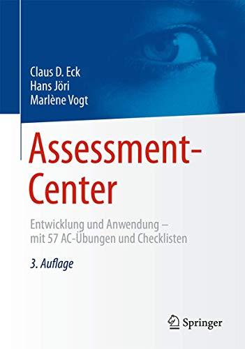 Assessment-Center: Claus D. Eck
