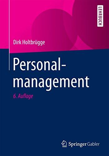 9783662481097: Personalmanagement (German Edition)