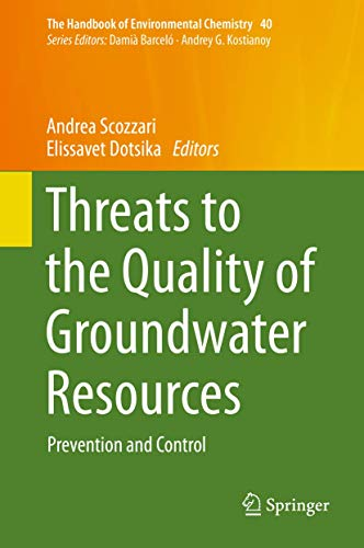 Threats to the Quality of Groundwater Resources: Andrea Scozzari